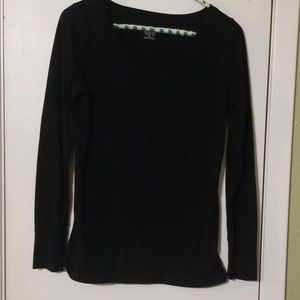 Mossimo vneck long sleeve top